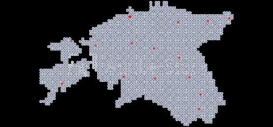 Soojuspumbad Eesti kaart taust